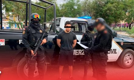 Capturan a presunto pederasta en la colonia Valle Verde; lo entregan a la Interpol