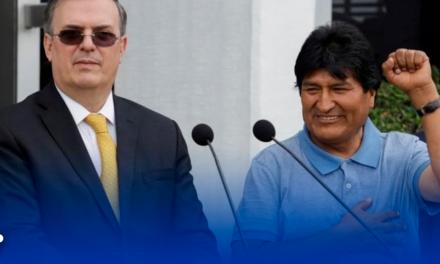 Agradece a México por 'salvarle la vida' Evo Morales