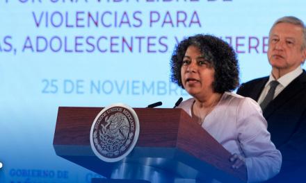 Gobierno Federal refrenda compromiso con protección a mujeres