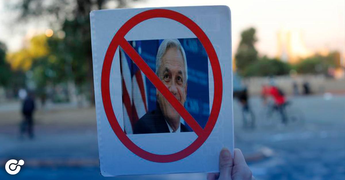 piden juicio político contra Piñera