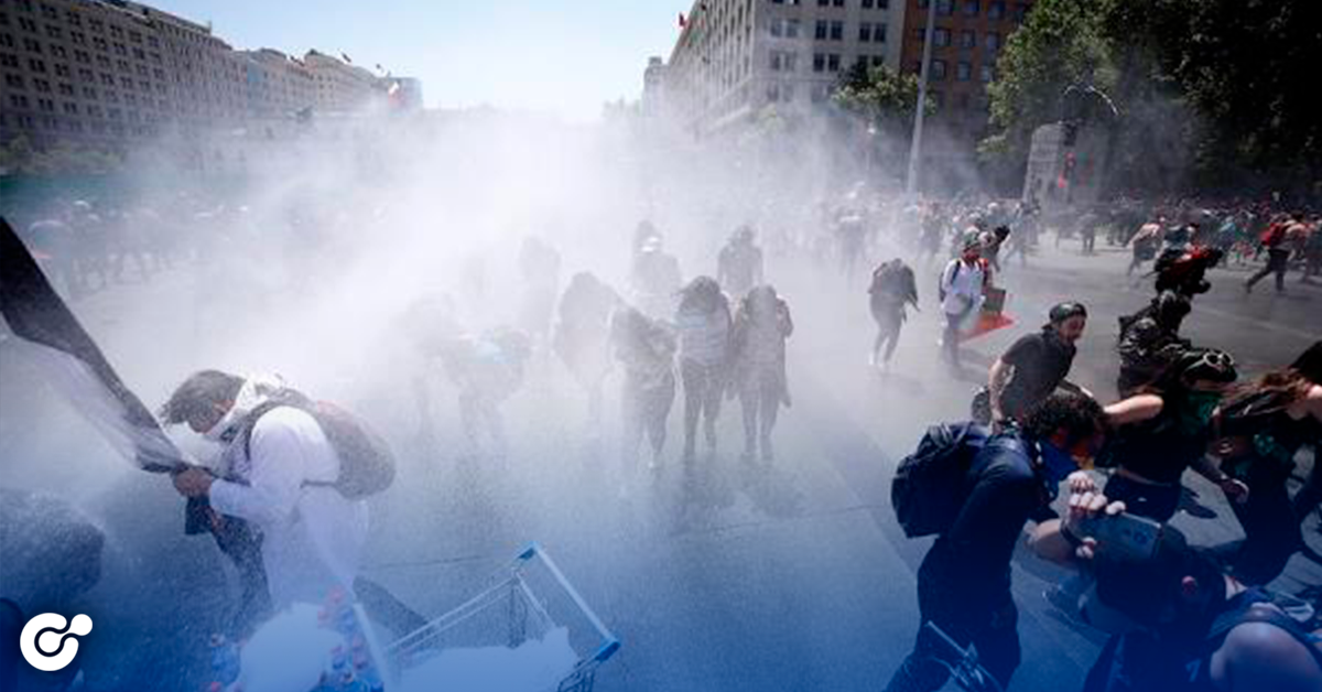 Sismo de 6.1 grados sacude Chile durante protestas