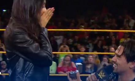 Ángel Garza robó el espectáculo tras ganar el título de peso crucero de WWE