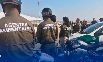 Escobedo presenta la primera 'Policía Ambiental'