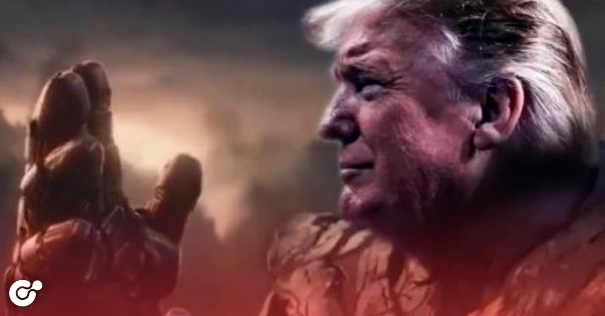 Trump usa imagen de 'Thanos' para video electoral