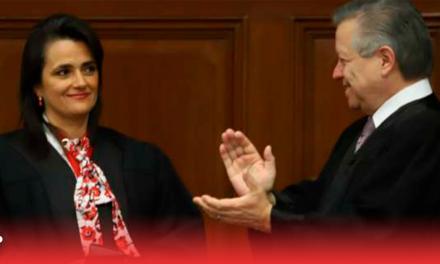 Reciben a Ríos-Farjat en Suprema corte de Justicia