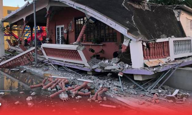 Temblor magnitud 6.4 sacude a Puerto Rico
