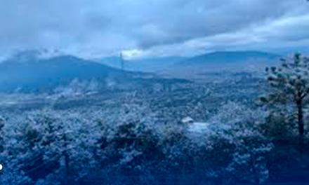 Heladas en zonas altas de Nuevo León