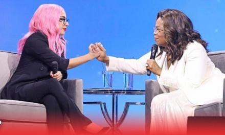 Lady Gaga conmueve a a Oprah Winfrey con sus confesiones