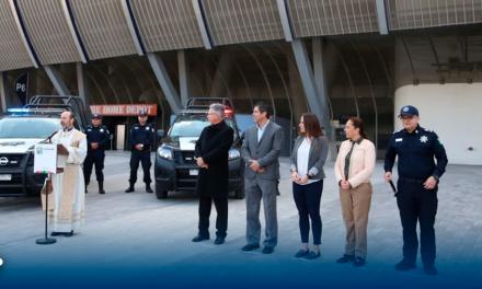 4 patrullas fueron entregadas por Club de Fútbol Monterrey