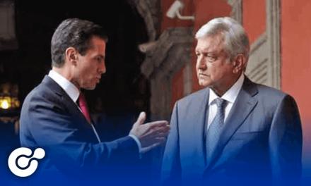 López Obrador afirma que su gobierno no investiga a Peña Nieto
