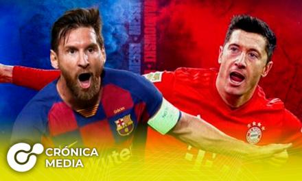 Hoy se enfrentan en cuartos de final el Barcelona Vs. Bayern Munich