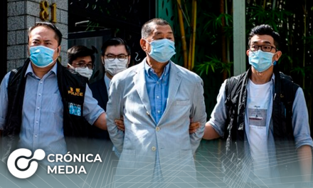 """Hong Kong: Detienen a magnate de los medios por presunta """"conspiración extranjera"""""""