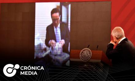 AMLO habla acerca de video viral de exfuncionarios con maletas de dinero