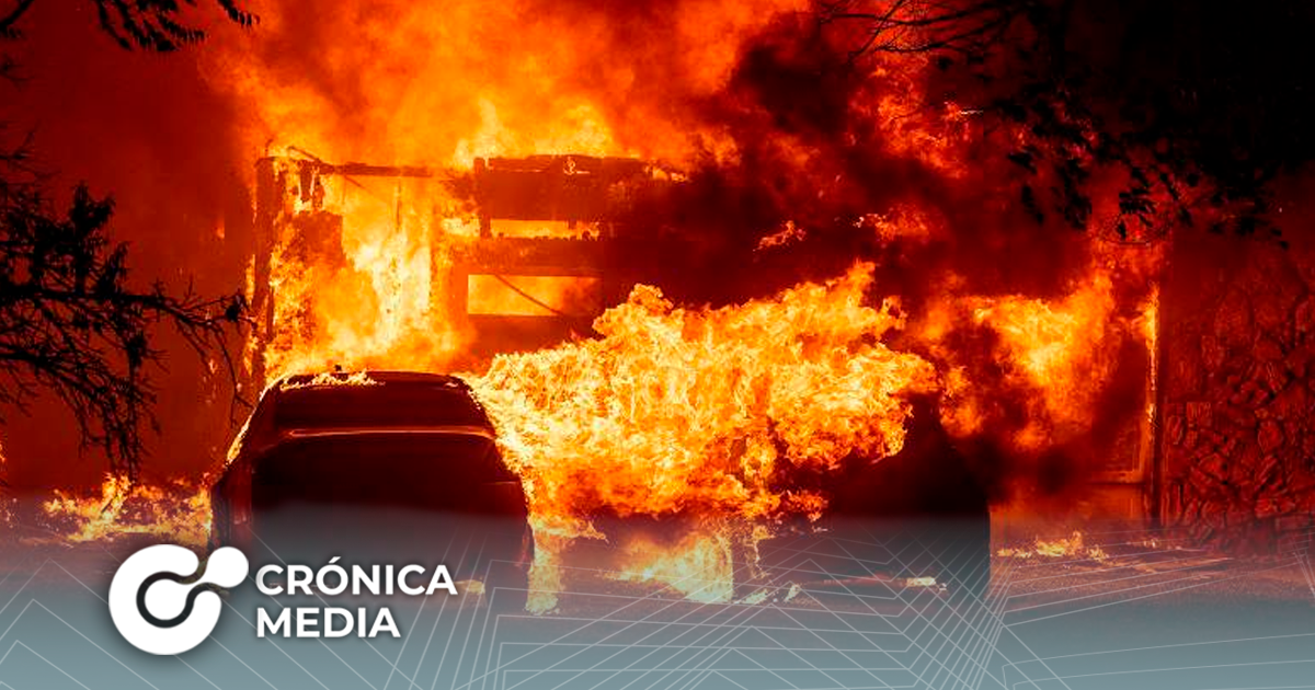 California en estado de emergencia por incendios forestales