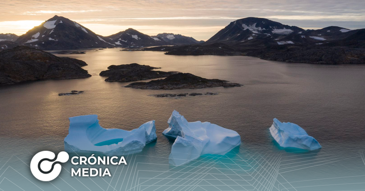 Groenlandia: El hielo se derrite aceleradamente