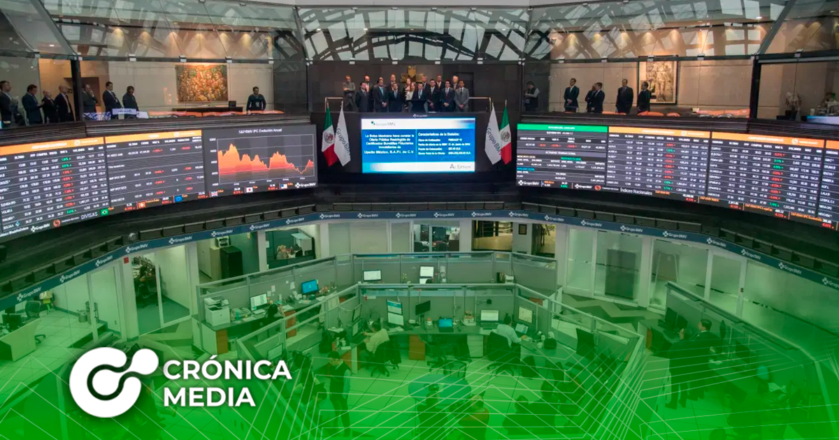 Bolsa Mexicana de Valores y Wall Street en alza