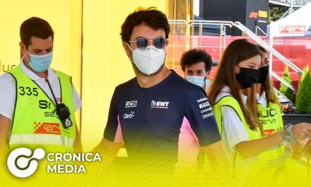 Sergio Pérez regresará a la F1 en el GP de España tras dar negativo al Covid-19
