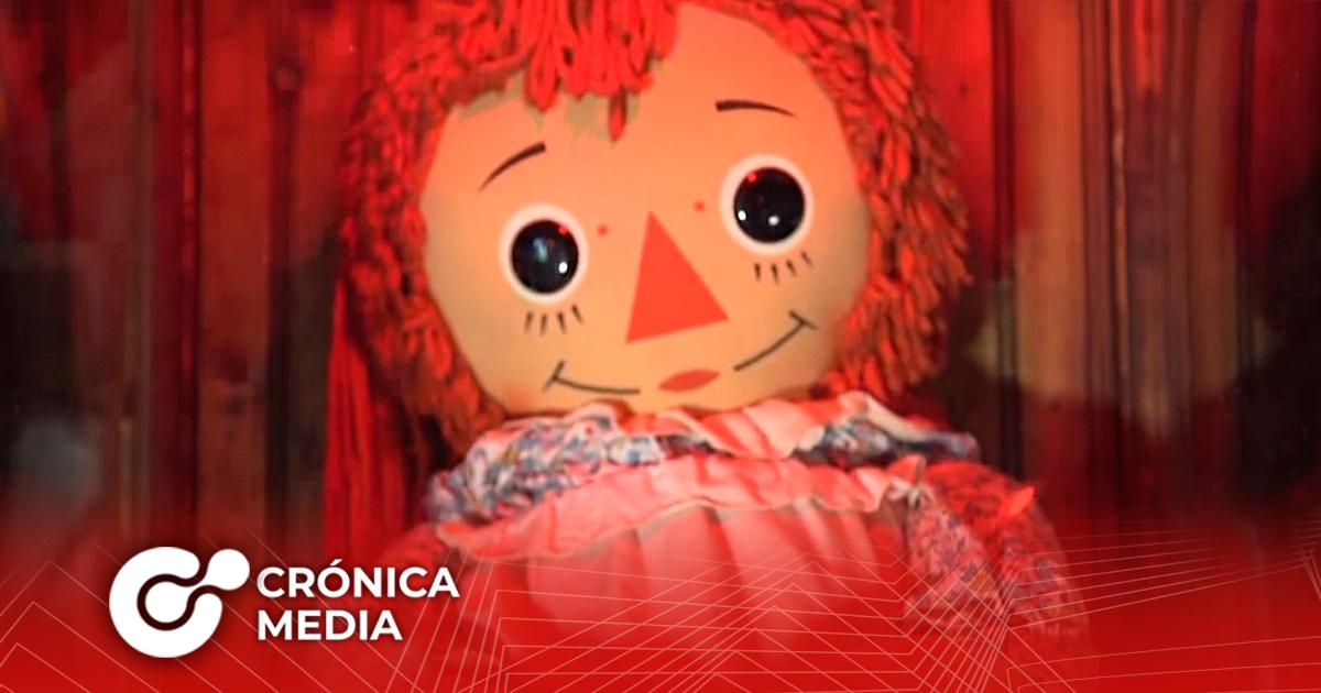 La muñeca diabólica Annabelle desapareció del museo Oculto de Warren