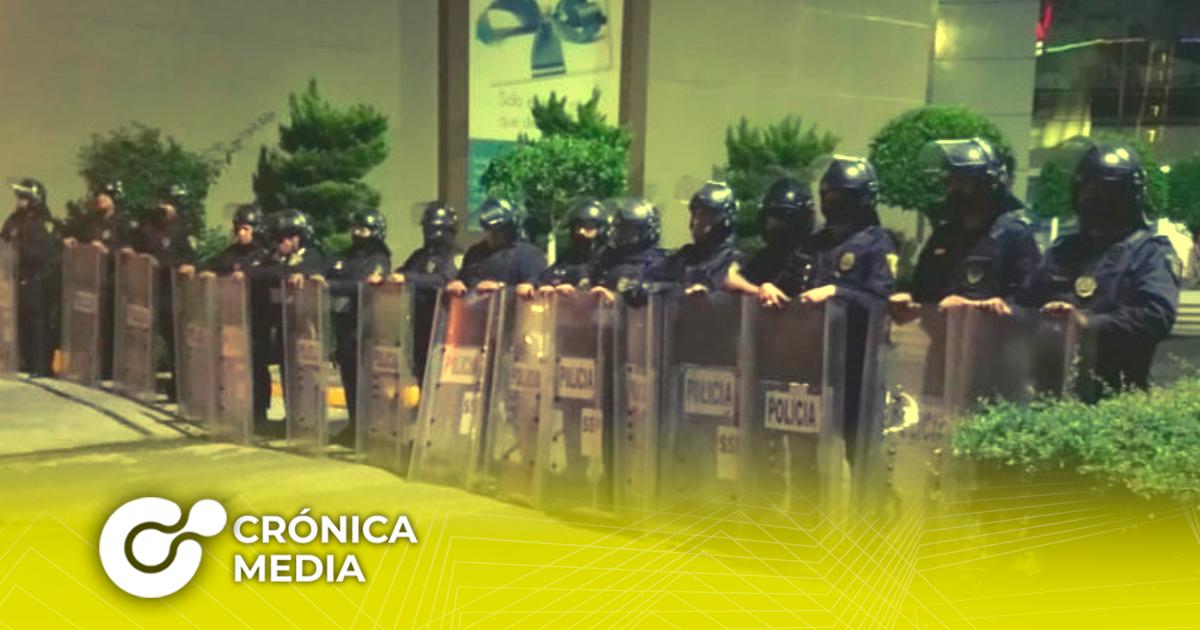 La policía tomó las oficinas de la Cooperativa Cruz Azul en CDMX