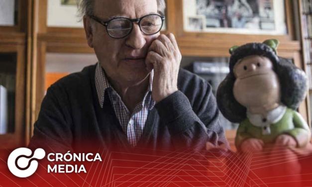 "Fallece ""Quino"", creador de ""Mafalda""."