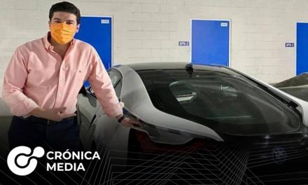 Samuel García vende BMW para ayudar a niños con cáncer