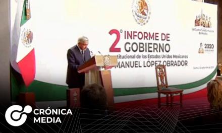AMLO presenta el Segundo Informe de Gobierno