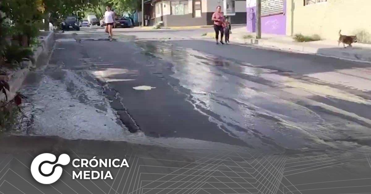 Comunidades en Nuevo León viven entre aguas negras
