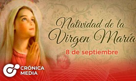 Hoy se celebra el nacimiento de la Virgen María