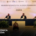 Gobernadores de Alianza Federalista exigen recursos federales