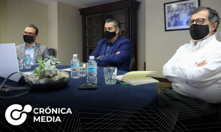 Gobernador de Nuevo León se reúne con G10