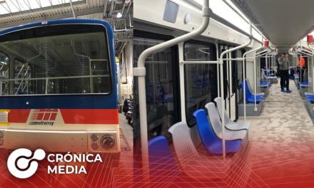 Trasladan desde Alemania vagones para Línea 3 del Metro regio