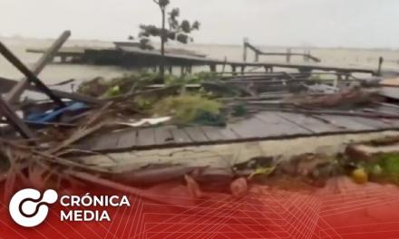 Huracán Delta toca tierra en Península de Yucatán como categoría 2
