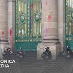 Congreso de la Ciudad de México fue vandalizado