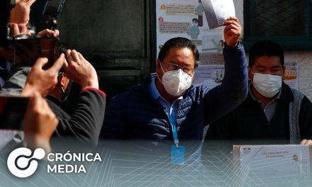 Elecciones Bolivia: Luis Arce gana primera vuelta