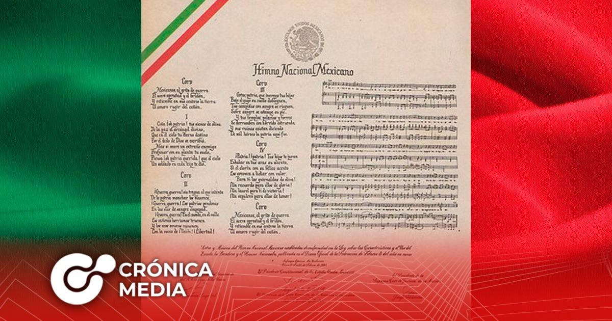 Hace 77 años se decretó el Himno Nacional Mexicano