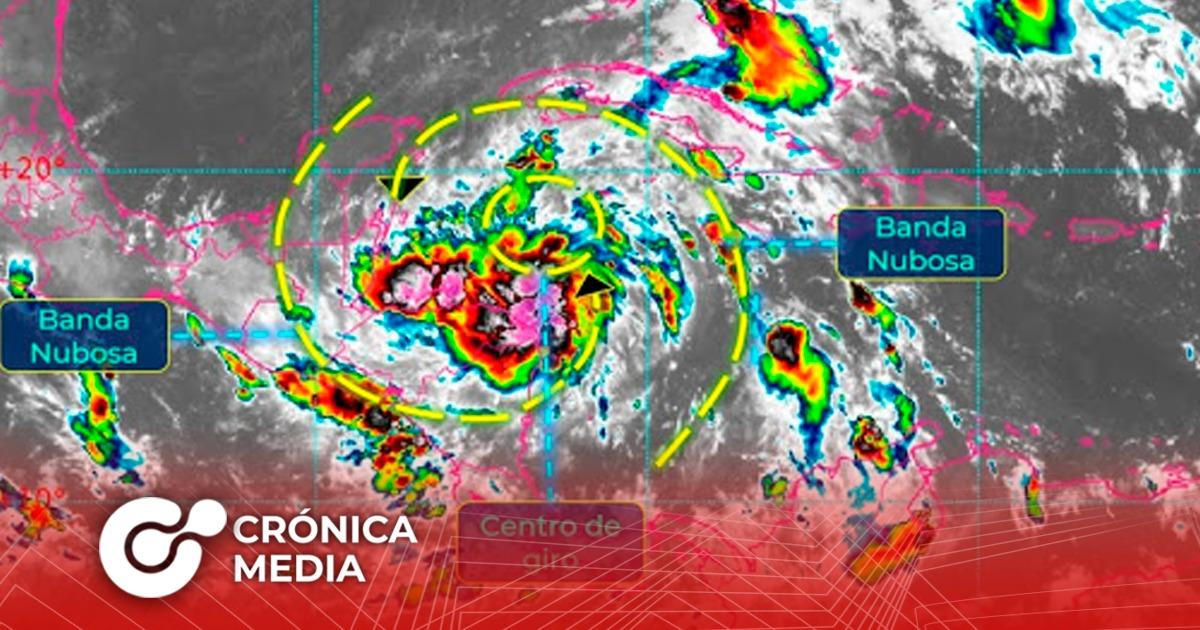 Alerta naranja en Quintana Roo por tormenta tropical Zeta