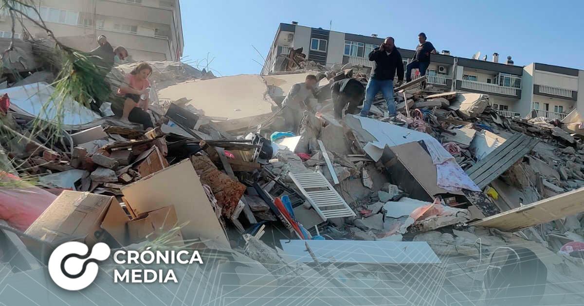 Fuerte terremoto sacude a Turquía y Grecia