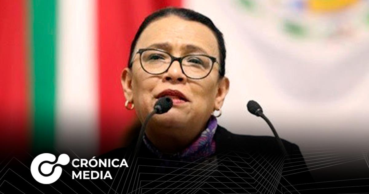 AMLO propone a Rosa Icela Rodríguez para sustituir a Durazo