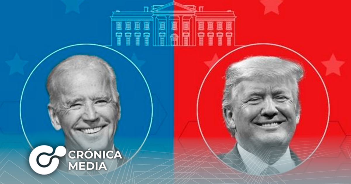Trump y Biden van empatados en elecciones en EE. UU.