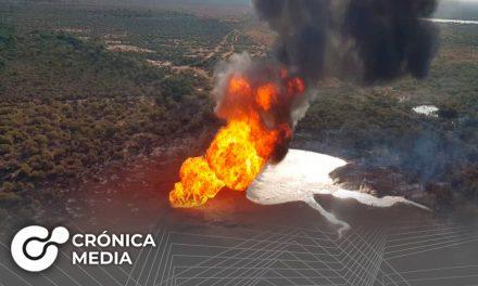 Explota gasoducto en Nuevo León