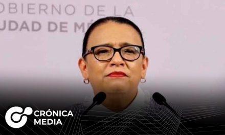Rosa Icela Rodríguez aceptó ser la nueva secretaria de Seguridad
