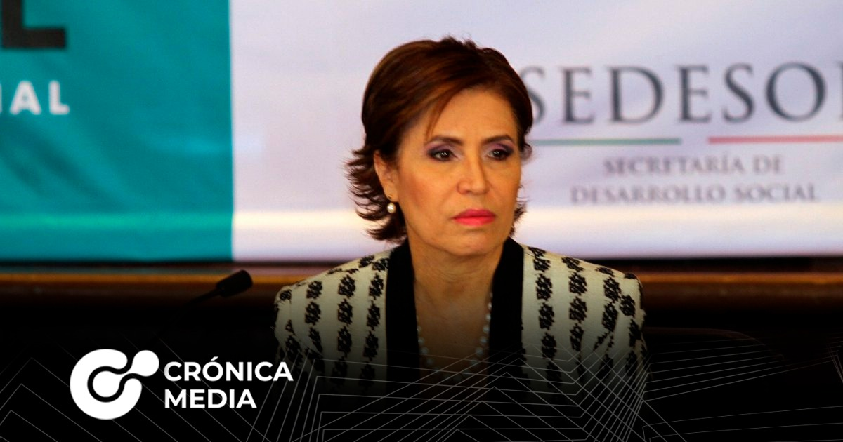 Dictan orden de aprehensión contra Rosario Robles