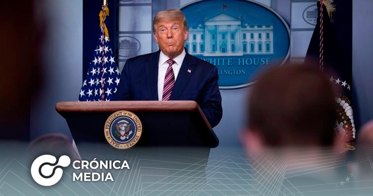 Noticieros en Estados Unidos censuraron discurso de Trump
