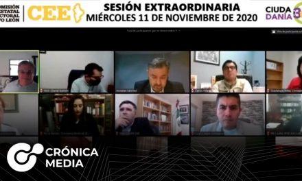 CEE acredita 12 candidaturas independientes en Nuevo León