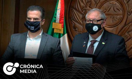 Firman hermanamiento alcaldes de Monterrey y Mission, Tx
