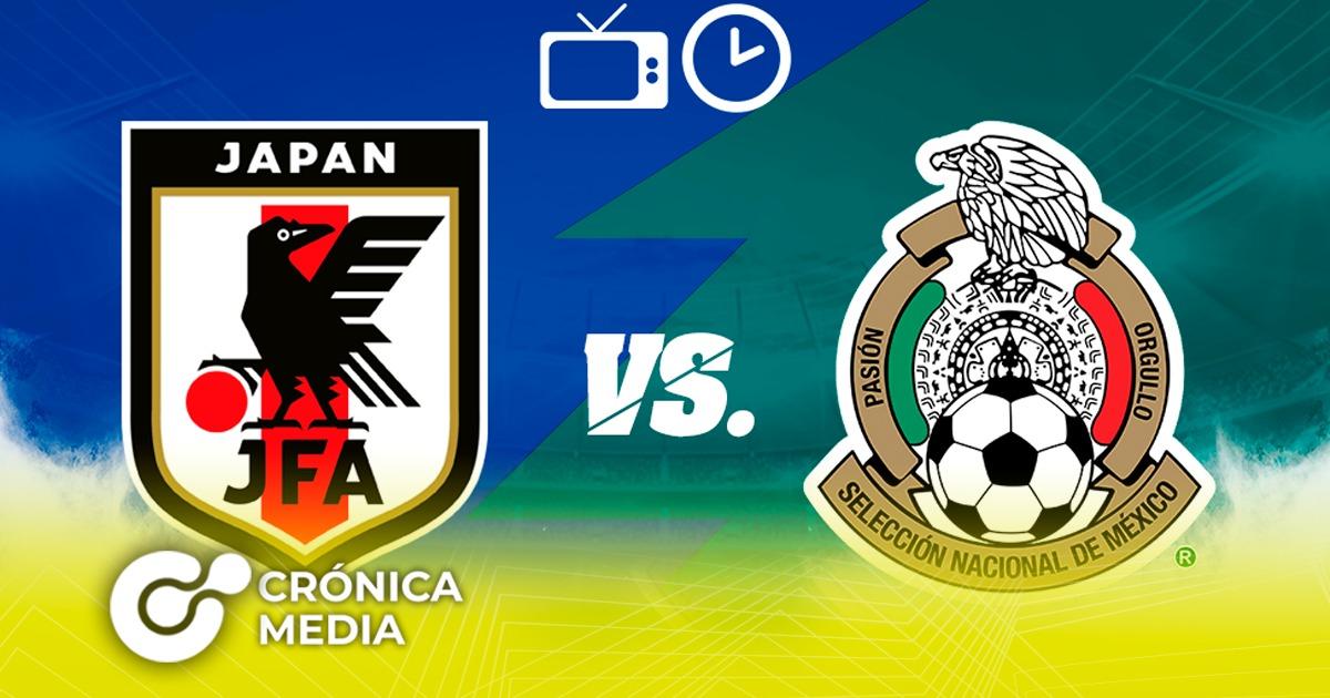 Hoy juega México Vs. Japón
