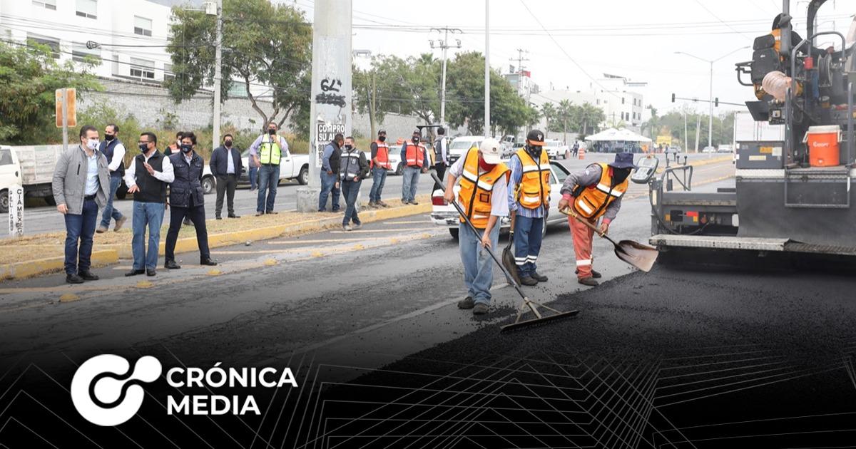 Monterrey arranca programa Vialidades Regias 4