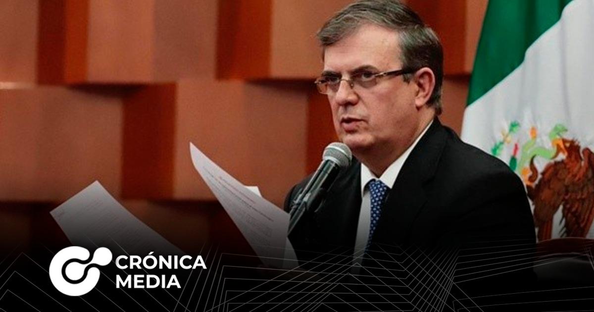 Ebrard afirma que no hay orden de arresto contra Cienfuegos