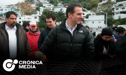 Alcaldía de Monterrey rehabilita calle y entrega sendero en La Campana