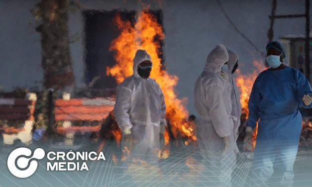 Se incendió hospital que atendía Covid-19 en la India